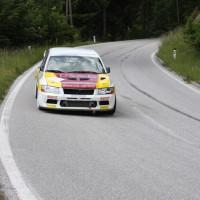 Schneebergland Rallye 2013 Mitsubishi Lancer EVO 7 Poiss