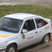 Schneebergland Rallye 2013 Kurt Adam Opel Kadett Gerlinde Krenn Schotter