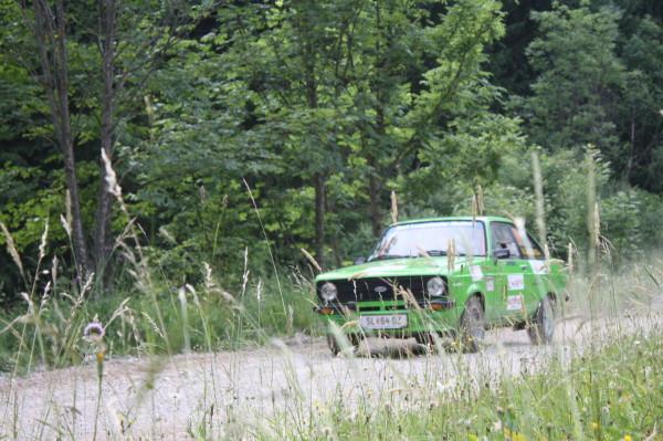Schneebergland Rallye 2013 Ford Escort Vorausauto SP 11