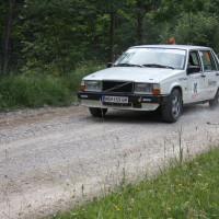 Schneebergland Rallye 2013 Volvo 740 SP 11 Schwarau Vorausauto