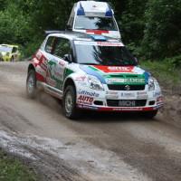 Schneebergland Rallye 2013 MIchael Böhm Suzuki Swift SP 11 Schwarzau