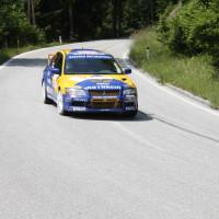 Schneebergland Rallye 2013 Dr. Marius Klein Zahnarzt Mitsubishi Lancer Evo 7