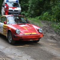 Schneebergland Rallye 2013 Porsche 911 Start SP 11 Schwarzau im Gebierge