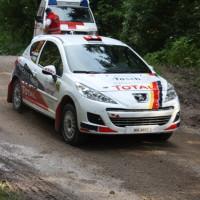 Schneebergland Rallye 2013 Alois Handler Peugeot 207 RC Autohaus Tasch SP 11