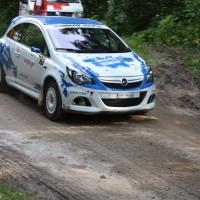 Schneebergland Rallye 2013 Opel Corsa OPC Wollinger Start SP 11