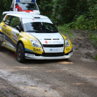 Schneebergland Rallye 2013 Suzuki Swift S1600 Start SP 11