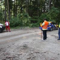 Schneebergland Rallye 2013 SP 11 Start Schwarzau im Gebierge