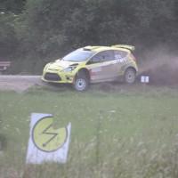 Schneebergland Rallye 2013 Ford Fiesta S2000 Olle Szasz Fahrwerk Federn