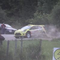Schneebergland Rallye 2013 Ford Fiesta S2000 Olle Szasz SP 14 Drift