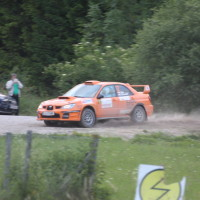 Schneebergland Rallye 2013 Subaru Impreza SP 14 Rundkurs Schwarzau im Gebierge
