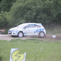 Schneebergland Rallye 2013 Opel Corsa OPC SP 14 Schwarzau