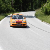 Schneebergland Rallye 2013 Gerhard Hajszan Mitsubishi Lancer Evo III