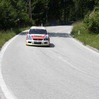 Schneebergland Rallye 2013 Gerwald Grössing Mitsubishi Lancer Evo IX R4