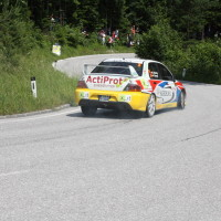 Schneebergland Rallye 2013 Grössing Mitsubishi Lancer Evo 9 R4