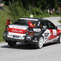 Schneebergland Rallye 2013 Rongits Lszlo Mitsubishi Lancer EVO 9