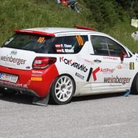 Schneebergland Rallye 2013 Citroen DS3 R3T Peter Ebner Gerald Winter