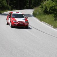 Schneebergland Rallye 2013 Citroen Saxo VTS Zoltan Hetei