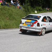 Schneebergland Rallye 2013 Kurt Adam Opel Kadett Gerlinde Krenn