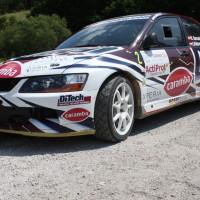 Schneebergland Rallye 2013 Mitsubishi Lancer Evo 9 DiTech Racing Team Harrach