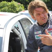 Schneebergland Rallye 2013 Mitsubishi Lancer Evo IX Grössing
