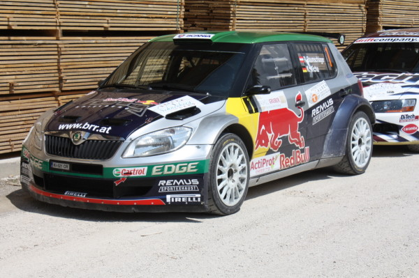 Schneebergland Rallye 2013 Service