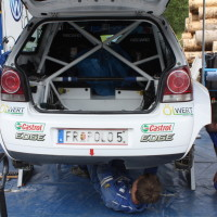 Schneebergland Rallye 2013 Rosenberger VW Polo Service