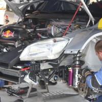 Schneebergland Rallye 2013 Red Bull Racing BRR Skoda Fabia S2000 Service Teile
