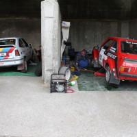 Schneebergland Rallye 2013 Service Box Opel Ford