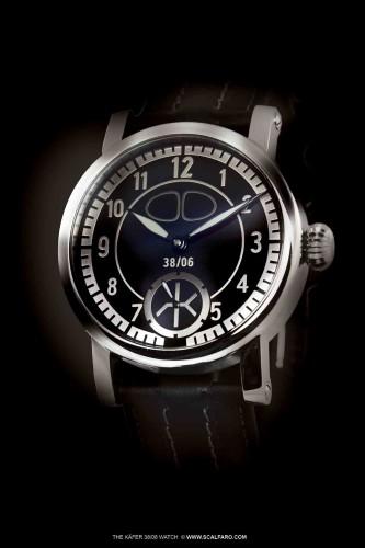 Uhr Kaefer VW 3806 Watch engineered by Scalfaro