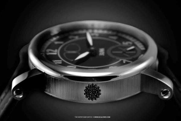 Kaefer VW3806 Uhr designed by Scalfaro DNA Chamber