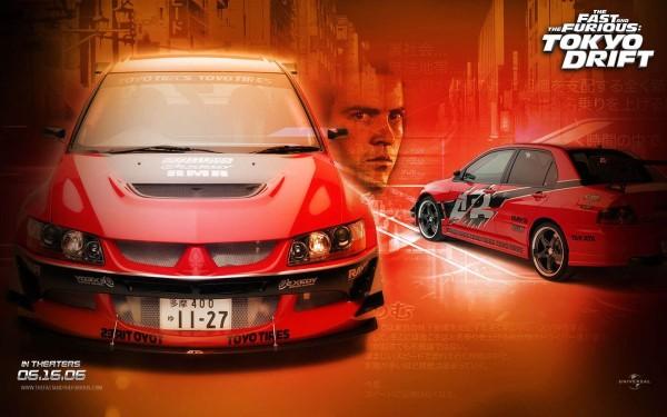 The Fast and the Furious Tokyo Drift Mitsubishi Lancer Evo