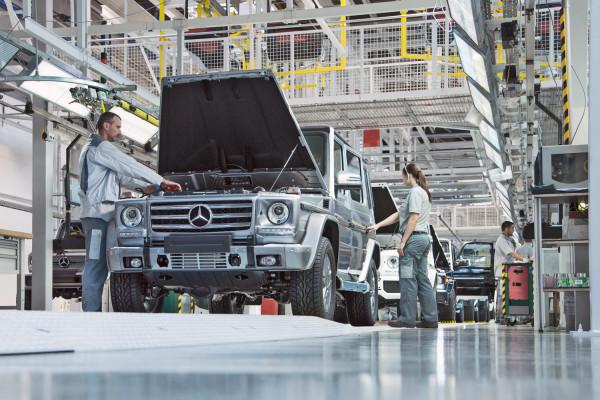Mercedes-Benz G-Klasse Produktion Magna Steyr Graz