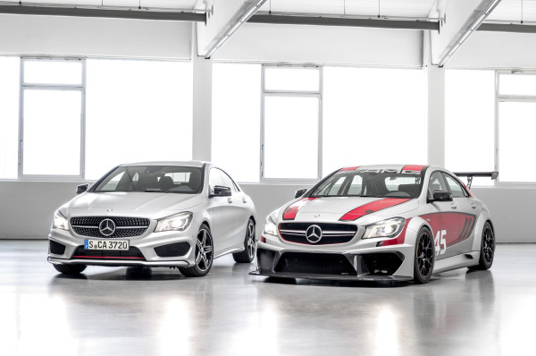 Mercedes-Benz CLA 250 Sport & CLA 45 AMG Racing Series