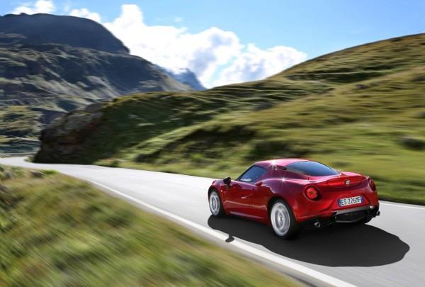 Alfa Romeo 4c Heck Seite