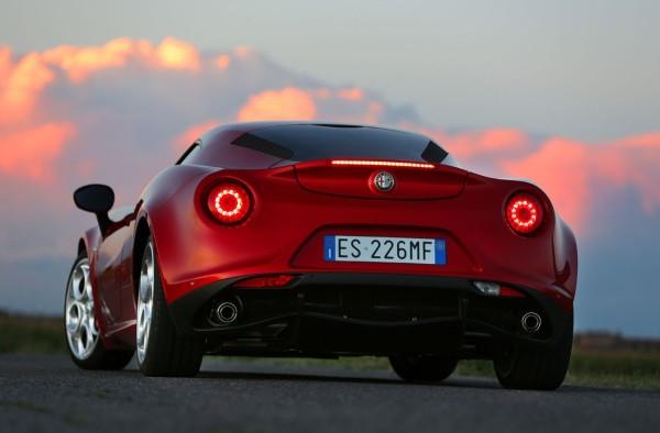 Alfa Romeo 4c Heckansicht