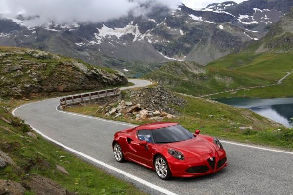 Alfa Romeo 4c Oben