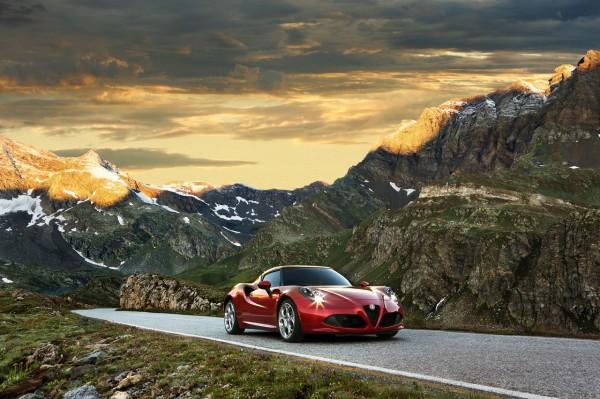Alfa Romeo 4c Seite