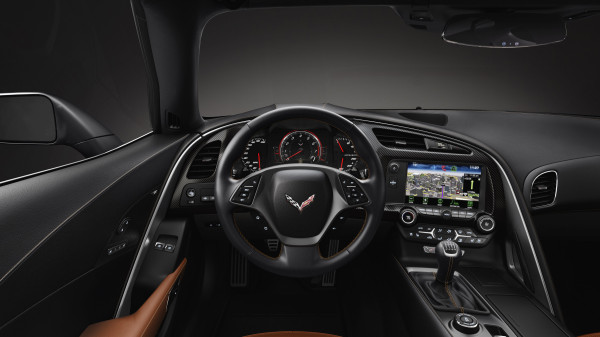 2014 Chevrolet Corvette Stingray Cockpit Innenraum MyLink