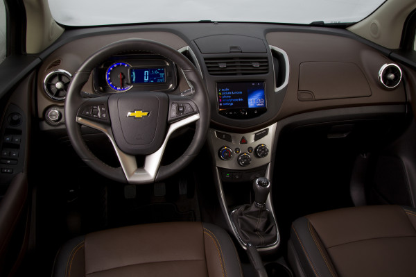 Chevrolet Trax Cockpit Innenraum MyLink