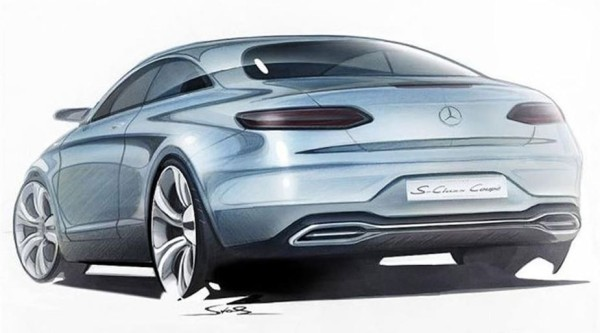 Mercedes-Benz S-Class Coupe Heck
