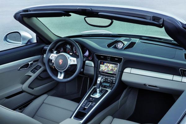 Porsche_911_Turbo__S_Cabrio Innenraum