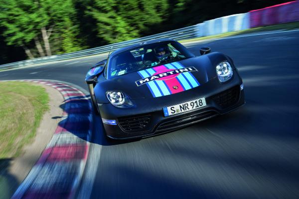Porsche_918_Spyder Rekord Hybridantrieb Nürburgring