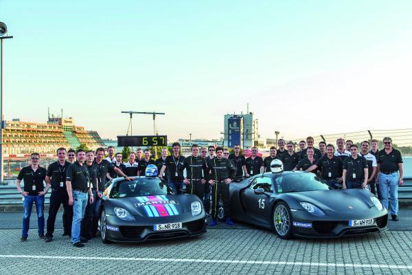Porsche_918_Spyder Rekord Nürburgring