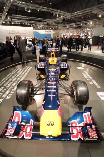Unschlagbares Team Sebastian Vettel und Red Bull RB9 Renault Infiniti Racing