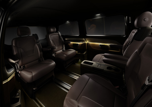 Mercedes-Benz V-Klasse Sitze