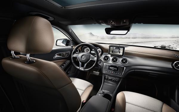 Mercedes-Benz GLA Edition 1 Innenraum