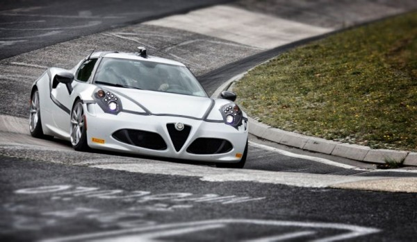 """Alfa Romeo 4C in nur 8'04"""" um die Nordschleife"""
