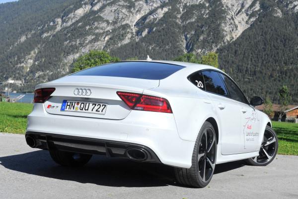 Audi quattro RS7 Sportback Heck