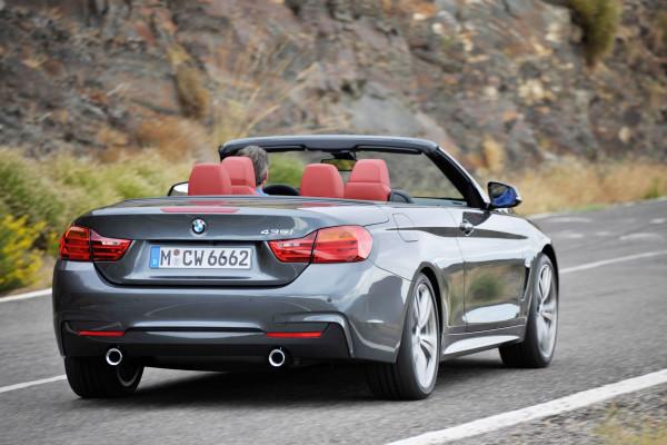 BMW 4er Cabriolet Heck