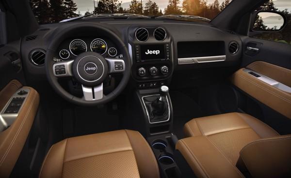 Jeep Compass Innenraum